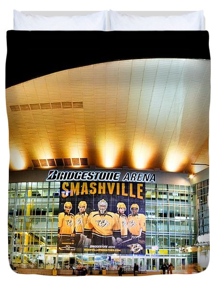 Bridgestone Arena Duvet Cover