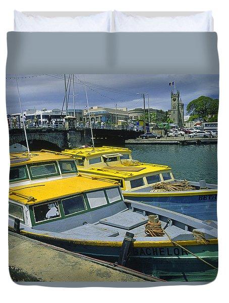 Bridgetown, Barbados Duvet Cover