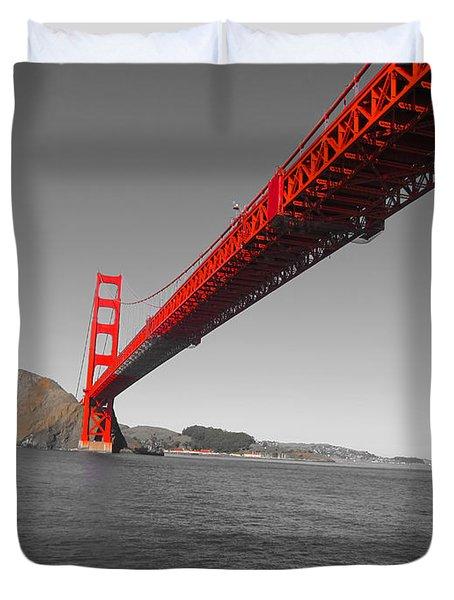 Bridgeworks Duvet Cover by Douglas Barnard
