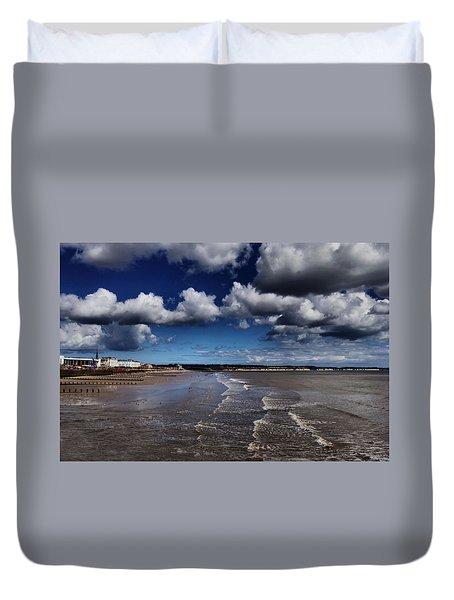 Bridlington Coastline Duvet Cover
