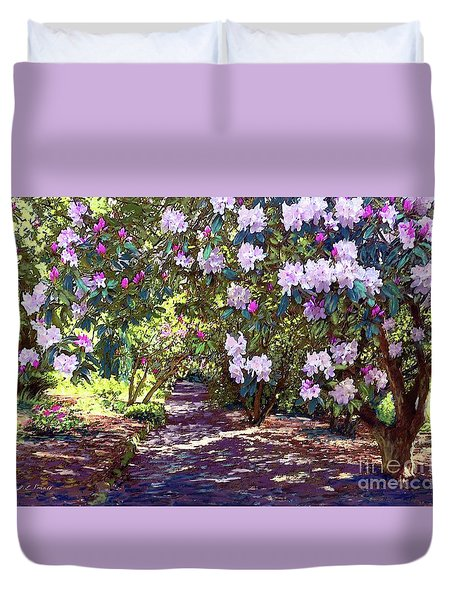Bright And Beautiful Spring Blossom Duvet Cover