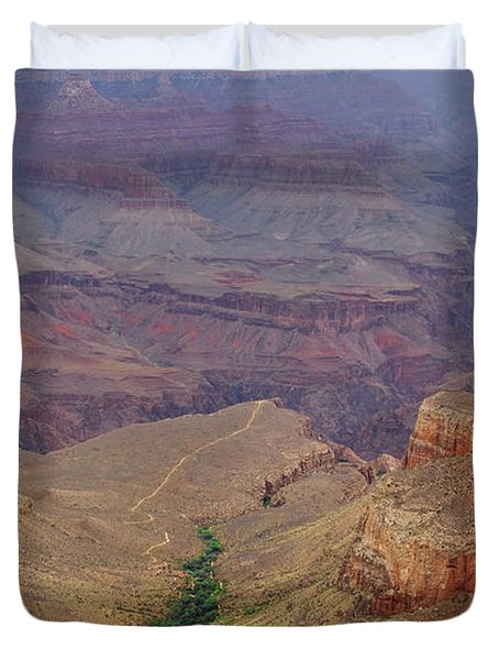 Bright Angel Trail Duvet Cover