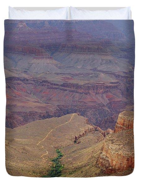 Bright Angel Trail Duvet Cover
