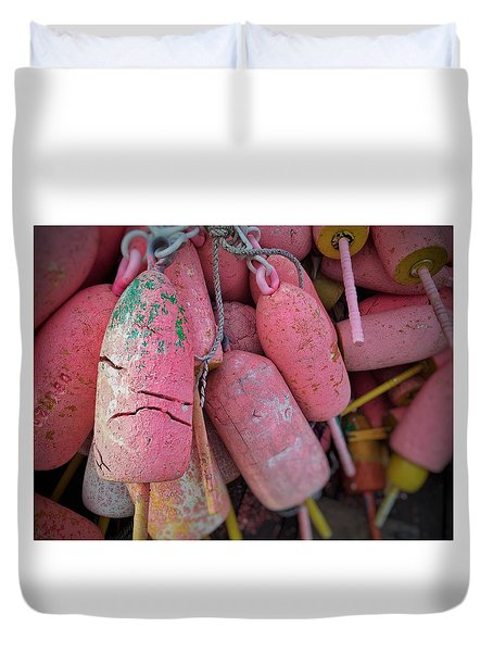 Bright Bunch Duvet Cover by Olivier Calas