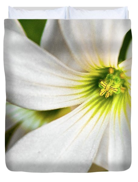 Bright Center Duvet Cover by Christopher Holmes