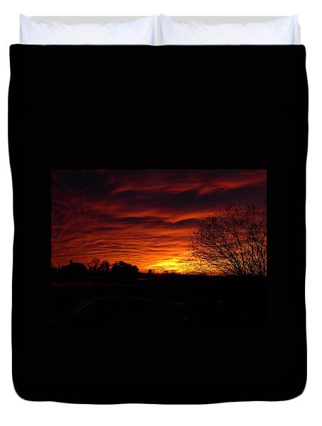 Bright Darkness Duvet Cover