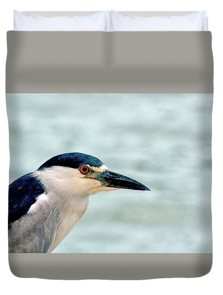 Bright Eyes Closeup Duvet Cover