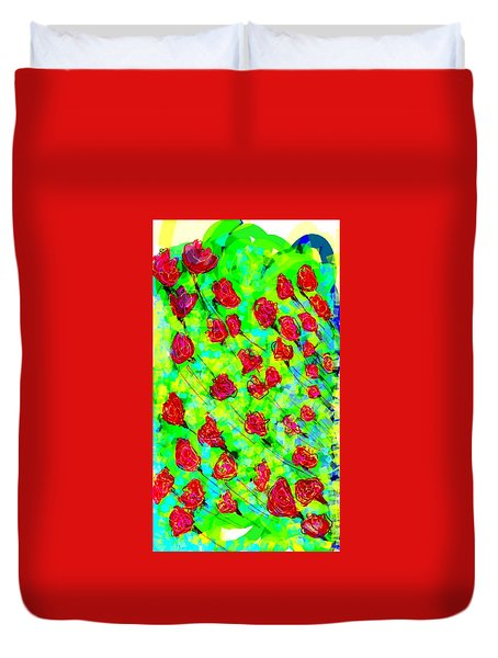 Bright Duvet Cover by Khushboo N