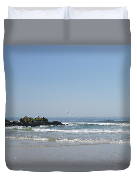 Bright Light Of May 3 Duvet Cover