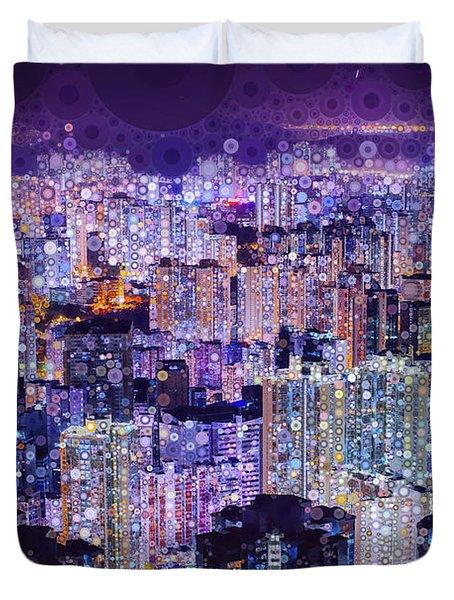 Bright Lights, Big City Duvet Cover