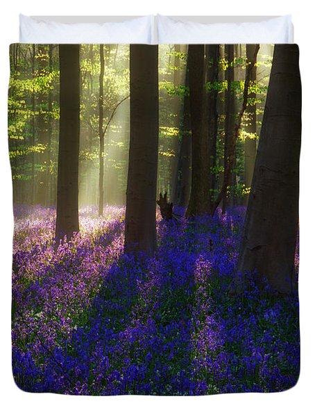 Bright Magic Duvet Cover