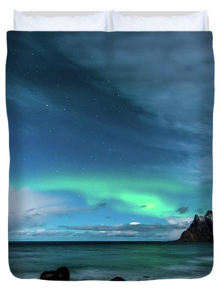 Bright Night Duvet Cover
