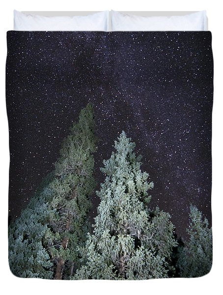 Bright Night Duvet Cover by Jeff Kolker