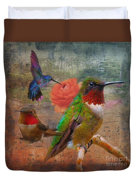 Bright Note In The Song Of Life 2015 Duvet Cover