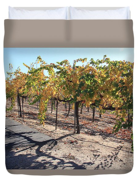 Bright November Morning Duvet Cover