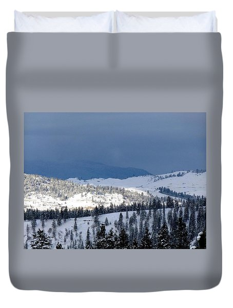 Duvet Cover featuring the photograph Bright Patch Of Sunshine by Will Borden