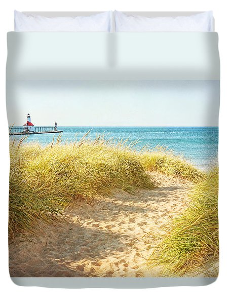 Bright Sunshiny Day Duvet Cover