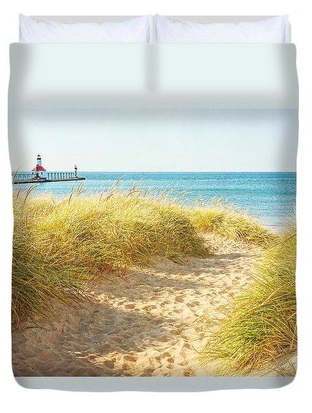 Bright Sunshiny Day Duvet Cover