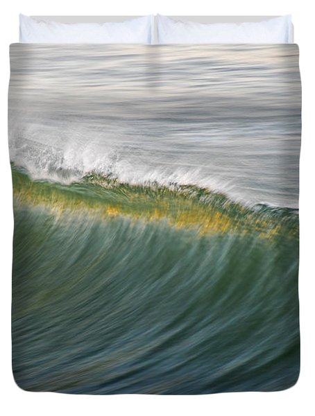 Bright Wave Duvet Cover