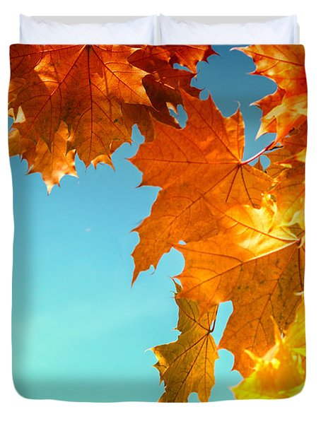 The Lord Of Autumnal Change Duvet Cover