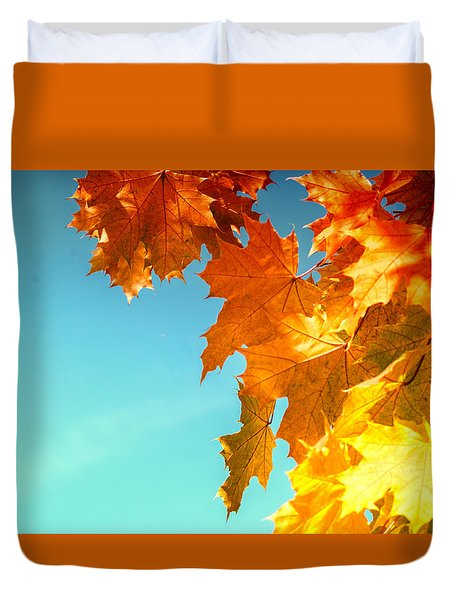 The Lord Of Autumnal Change Duvet Cover by John Williams