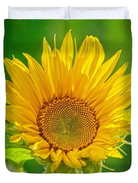 Bright Yellow Sunflower Duvet Cover