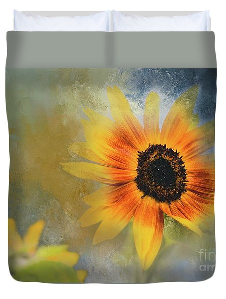 Brighter Than Sunshine Duvet Cover