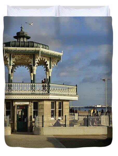 Brighton Bandstand Duvet Cover