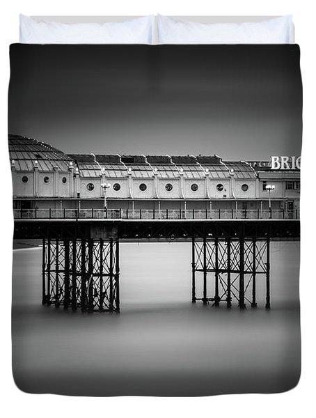 Brighton Pier, England Duvet Cover
