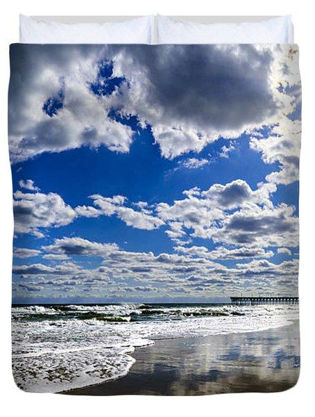 Brilliant Clouds Duvet Cover