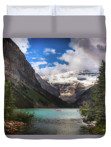 Brilliant Lake Louise Duvet Cover