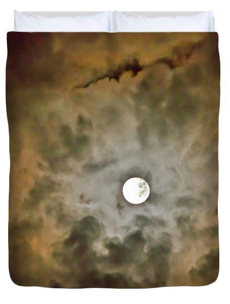 Brilliant Night Sky Duvet Cover