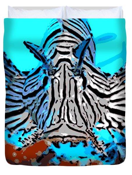 Brilliant Stripes Duvet Cover by George Pedro