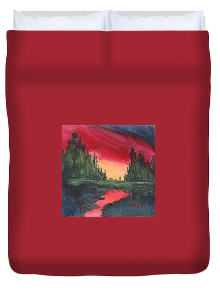 Brilliant Sundown Duvet Cover