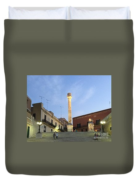 Brindisi Colonne Appian Way 2 Duvet Cover