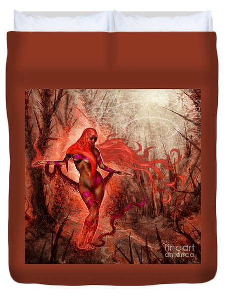 Bring Calm To Chaos  Duvet Cover by Tony Koehl