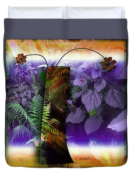 Bring Wonderland Home Duvet Cover by Iris Gelbart