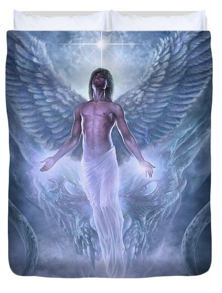 Bringer Of Light Duvet Cover
