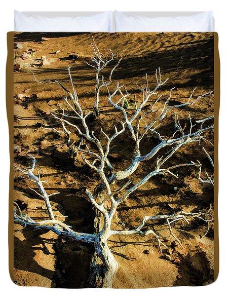 Brins Mesa 07-104 Stripped Bare Duvet Cover by Scott McAllister