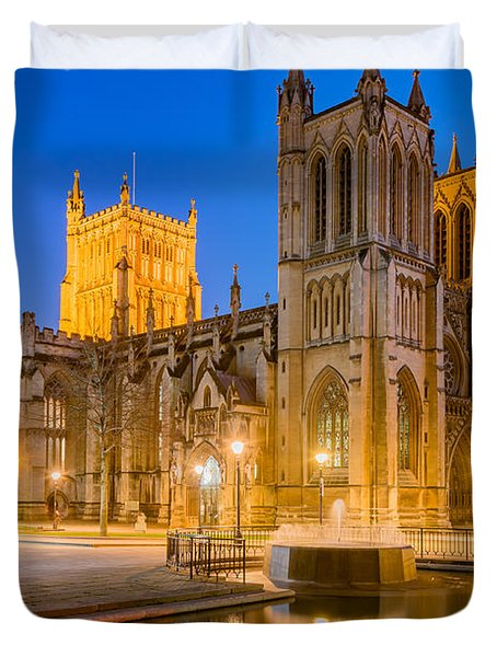Bristol Cathedral Duvet Cover