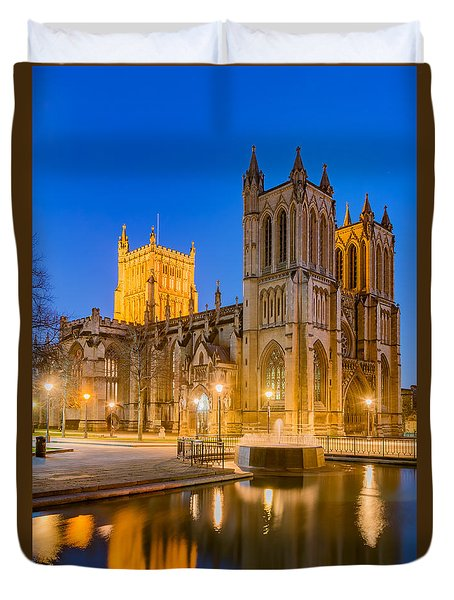 Bristol Cathedral Duvet Cover