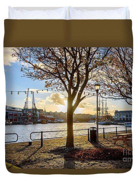 Bristol Harbour Duvet Cover