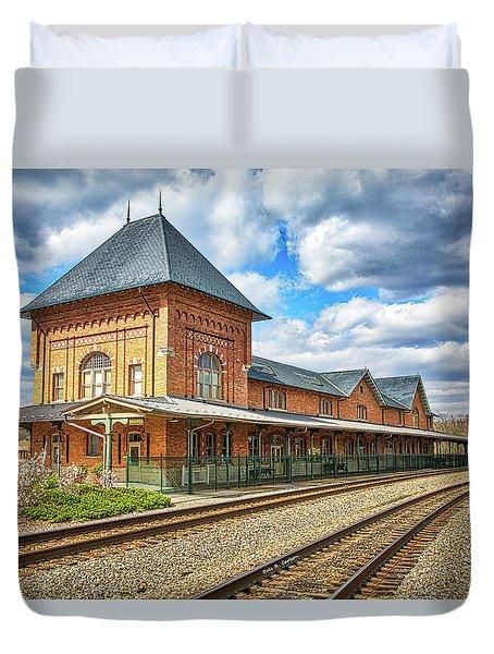 Bristol Train Station Duvet Cover