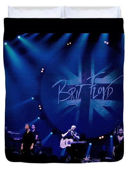Brit Floyd Space And Time World Tour 2015.3 Duvet Cover