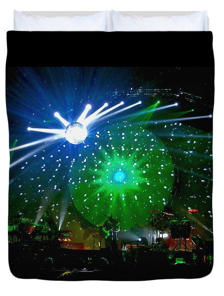 Brit Floyd Space And Time World Tour 2015.6 Duvet Cover