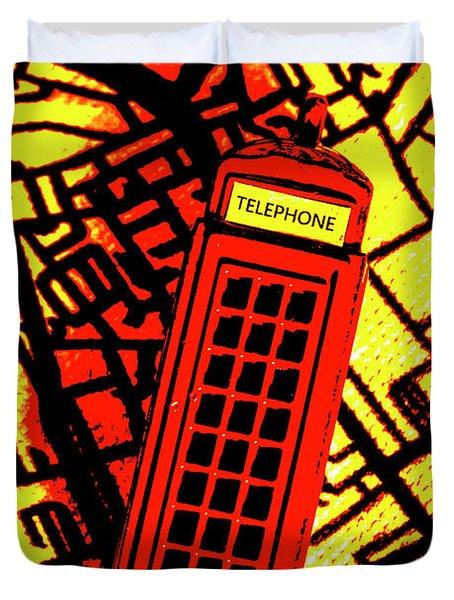 Brit Phone Box Duvet Cover