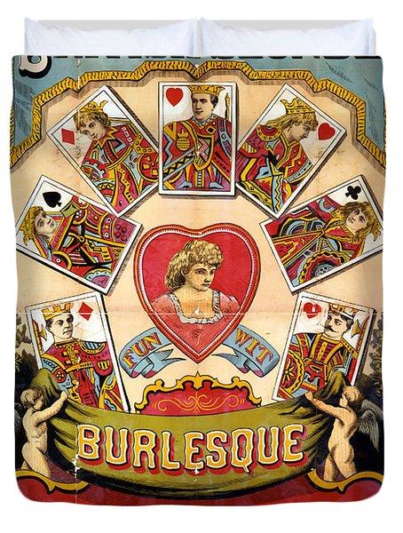 British Blonde Burlesque Troupe Duvet Cover