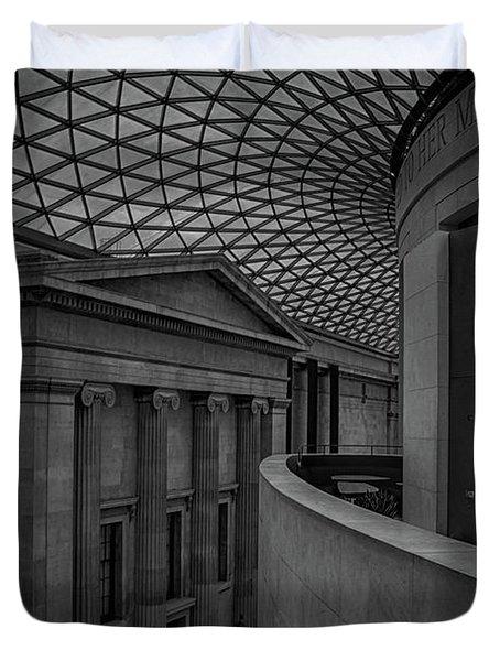 British Museum Duvet Cover