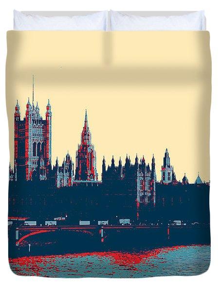 British Parliament Duvet Cover