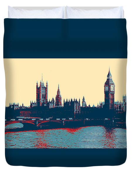 British Parliament Duvet Cover
